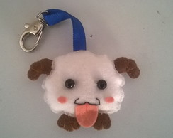 Chaveiro Poro League of Legends