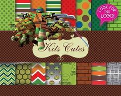Kit Digital Tartarugas Ninjas 06
