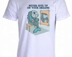 Camiseta Allsgeek Never Give Up - 03