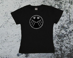 Camiseta Baby Look SHIELD