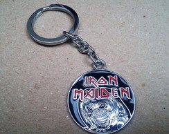Chaveiro de Metal - Iron Maiden