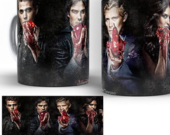 caneca seriado the vampires diaries 04