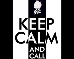 "Quadro 20 x 20 ""Keep Calm - Beetlejuice"""