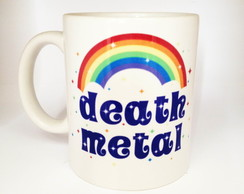 Caneca Death Metal Cute 1