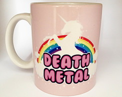 Caneca Death Metal Cute 2