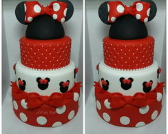Bolos Fakes Minnie
