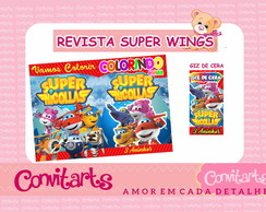 REVISTA P/ C SUPER WINGS + RÓT. GIZ DE C