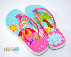 Chinelo Personalizado - Pool Party