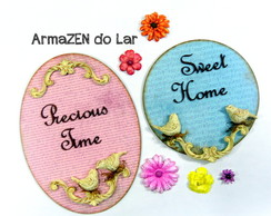 PAR Quadro decorativo-Precious Time - Sweet Home