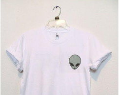 Camisa Estampada Alien