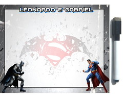 LousaMagnética Batman X Superman C/EMB