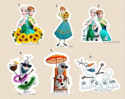 APLIQUE FROZEN FEVER