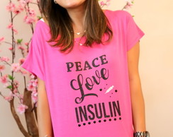 Bata Glitter - Peace Love Insulin
