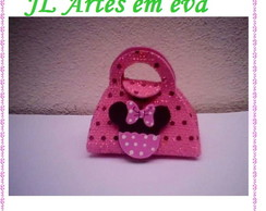 MINI BOLSINHA DA MINNIE ROSA