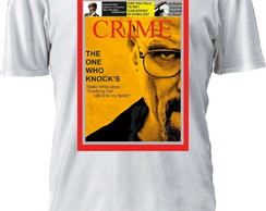 Camiseta Breaking Bad Heisenberg revista