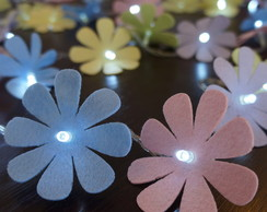Luz De Fada Flores Candy Colors 220v
