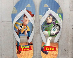 Chinelo Toy Story Infantil Buzz e Woody