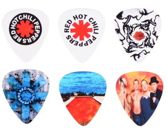 kit Palhetas Red Hot Chili Peppers 1mm