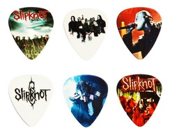 Kit Palhetas Personalizadas Slipknot 1mm