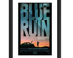Quadro Filme Blue Ruin Decoracao Cult PC