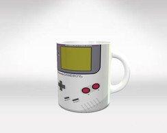 Caneca De Porcelana Game Boy