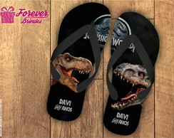 CHINELO PERSONALIZADO-JURASSIC WORLD