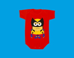 Camiseta OU Body Wolverine Minion 3