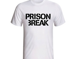 Camiseta Prison Break Série Seriado