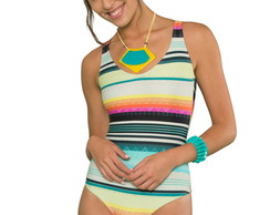 Maillot / Body Onassis Surf Stripes