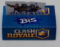 Caixa bis duplo chash royale