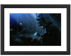 Quadro Darth Vader Star Wars Filme Cine