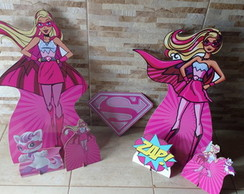 KIT BARBIE SUPER PINK - MDF