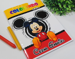Revistinha de Colorir Mickey