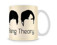 Caneca The Big Bang Theory Heads