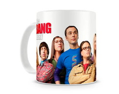 Caneca Big Bang Theory Personagens II