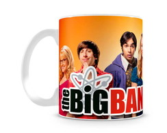 Caneca Big Bang Theory Personagens IV