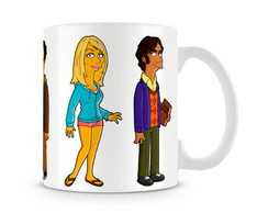 Caneca The Big Bang Theory Sim