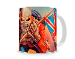 Caneca Iron Maiden invasion of rarities