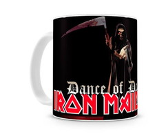 Caneca Iron Maiden dance of death