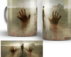 caneca seriado the walking dead twd 07