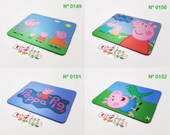 Mouse Pad Peppa Pig George Dinossauro