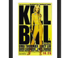 Quadro Filme Kill Bill Cinema Decoracao