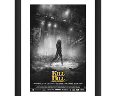 Quadro Filme Kill Bill Cine Cult Retro