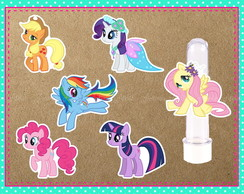 Aplique My Little Pony 6cm