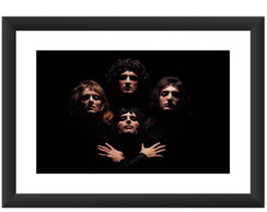 Quadro Queen Freddie Mercury Rock Musica