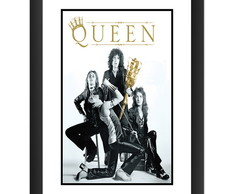 Quadro Queen Rock Musica Bandas Hard Pub