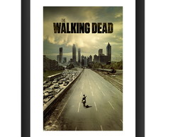 Quadro The Walking Dead Serie Fox Zumbi