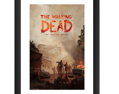 Quadro The Walking Dead Serie Hq Gibi Dc