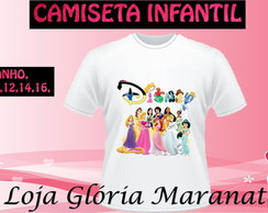 CAMISETA PRINCESA DISNEY C/1