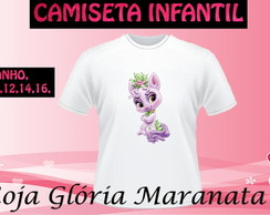 CAMISETA PRINCESA DISNEY CACHORRO C/1